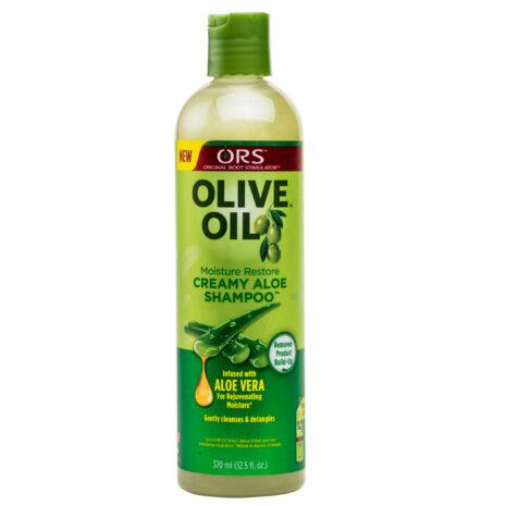 ORS OLIVE OIL CREAM ALOE SHAMPOO 370ml