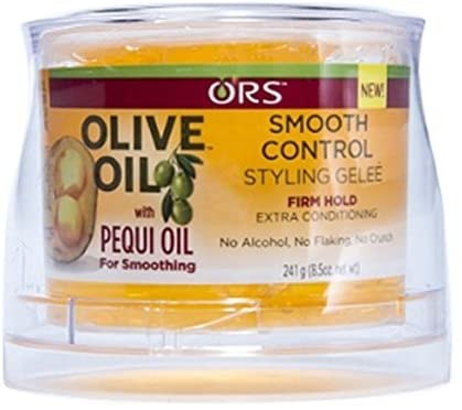 ORS OLIVE OIL PEQUI OIL SMOOTH CONTROL STYLING GEL 241ML