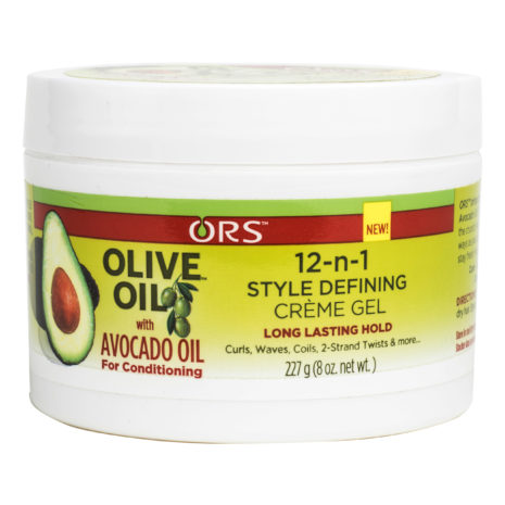 ORS Olive Oil with Avocado Oil 12-N-1 Style Defining Creme Gel 8 oz