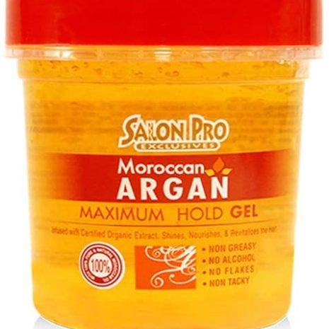 SALON PRO EXCLUSIVES ARGAN GEL